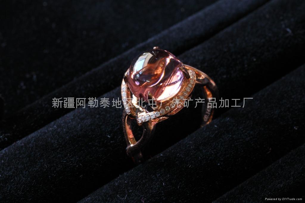 (精品)新疆碧玺女戒(特惠价) 1