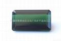 新疆綠藍色長方碧璽裸石(天然)