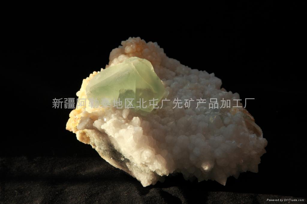 (   )石英萤石 1