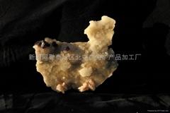 (   )紫螢石石英礦標