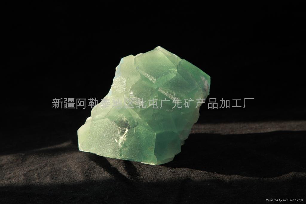 精美綠螢石礦標 1