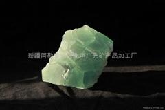 精美绿萤石矿标