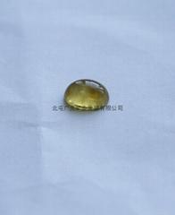 新疆阿勒泰產優質黃色海藍寶石貓眼(七夕大優惠)