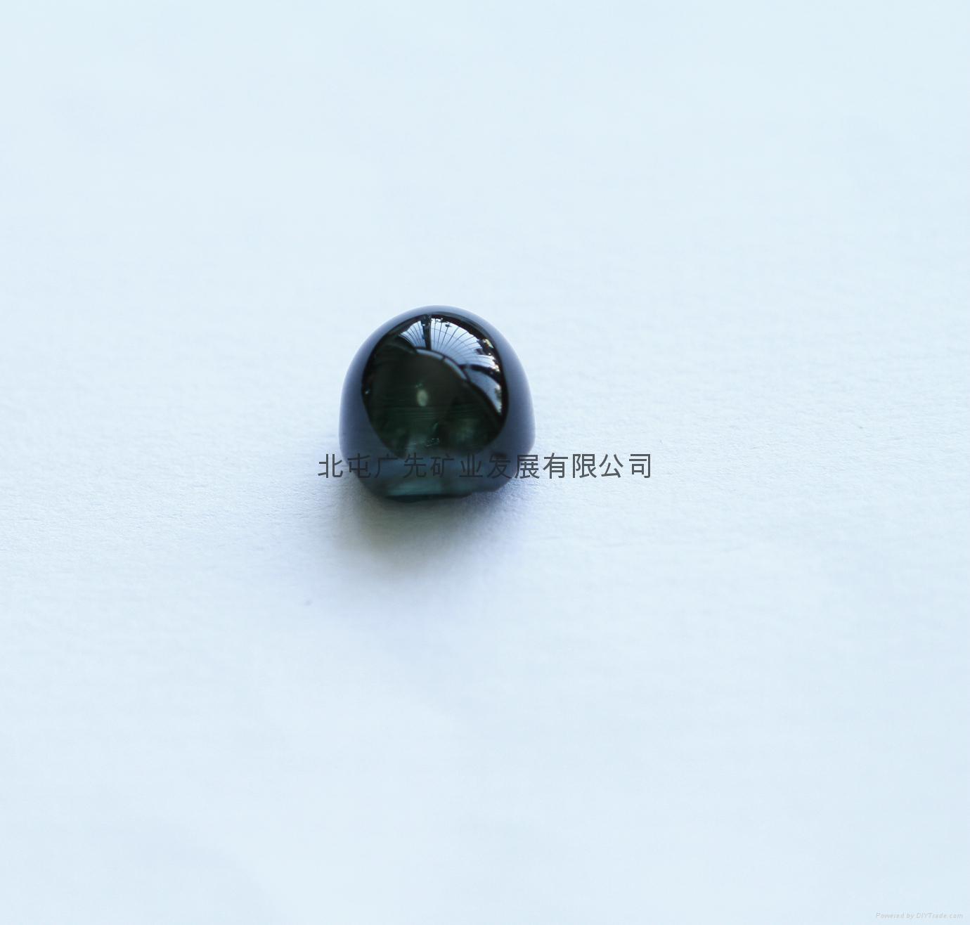 新疆   优质碧玺猫眼裸石(椭圆形)七夕优惠款 1
