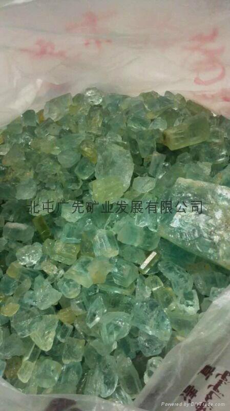 新疆阿勒泰產綠柱石 2