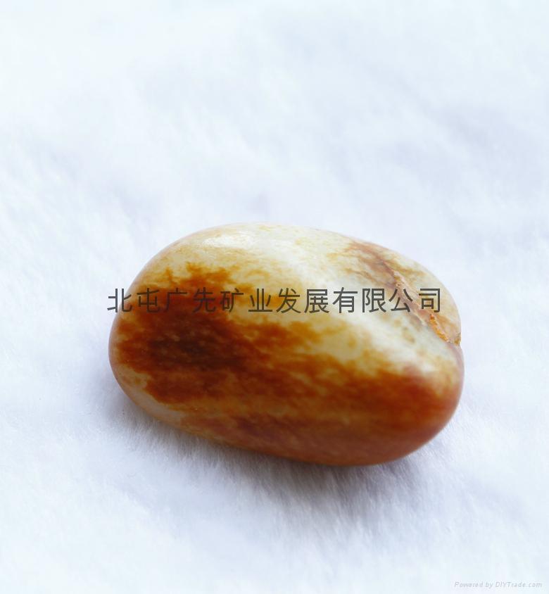 新疆和田产优质天然和田玉籽料原石雕刻吊坠(国庆活动款) 1