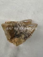 (   )黃色方解石