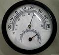 Greenhouse Round Digital ermometer Hygrometer Indoor Centigrade 5