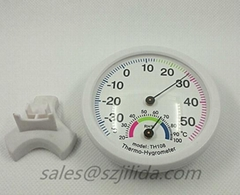 Greenhouse Round Digital ermometer Hygrometer Indoor Centigrade