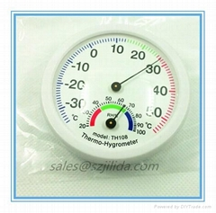 Greenhouse Round Digital ermometer Hygrometer Indoor Centigrade