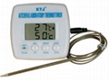 Thermometers and timers