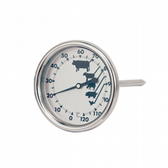 Instant Read Bi-Metal Meat Thermometer