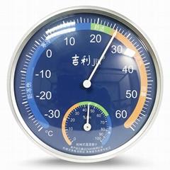 吉利 機械式溫濕度計高精度溫度計免電池溫度計室內外溫度計