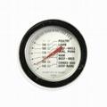 探針油溫計烤箱烤爐燒烤測溫表高精度不鏽鋼材質直徑54mm工廠生產 2
