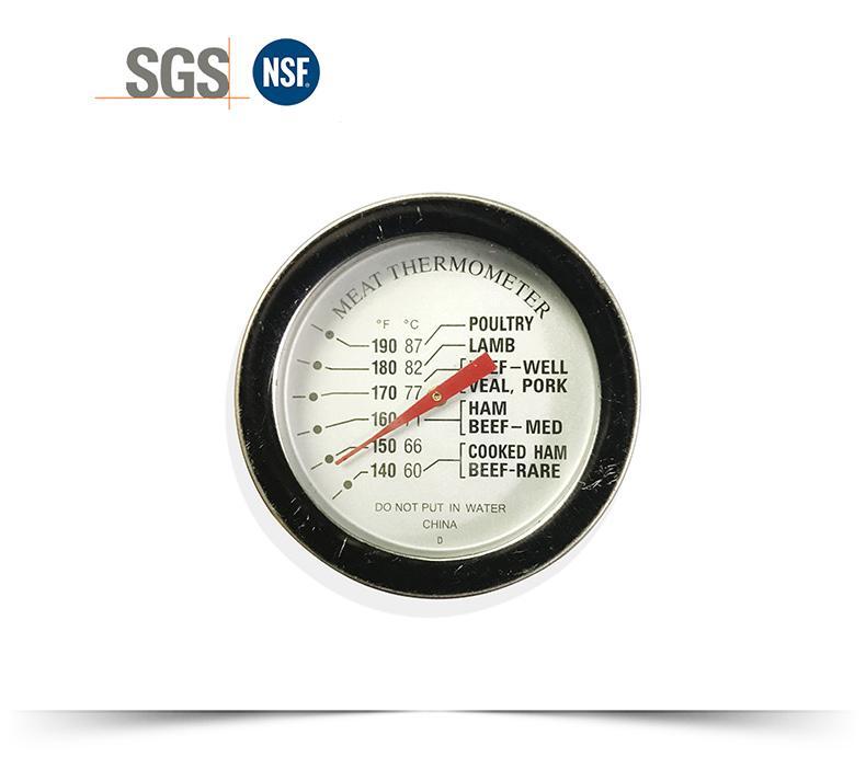 探針油溫計烤箱烤爐燒烤測溫表高精度不鏽鋼材質直徑54mm工廠生產 9