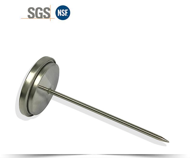 探針油溫計烤箱烤爐燒烤測溫表高精度不鏽鋼材質直徑54mm工廠生產 12