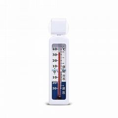 液体棒芯温度计 冰箱温度计 家用冰柜温度计药箱温度计温度表
