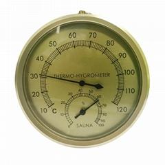 吉利 桑拿房溫度計浴室洗手間溫濕度計測高溫室內溫度計