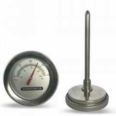 Wine Tank Thermometer Water thermometer Fermentation Barrel Thermometer (Hot Product - 1*)