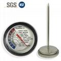 燒烤測溫計探針溫度計雙金屬探針溫度計食品探針溫度計 1
