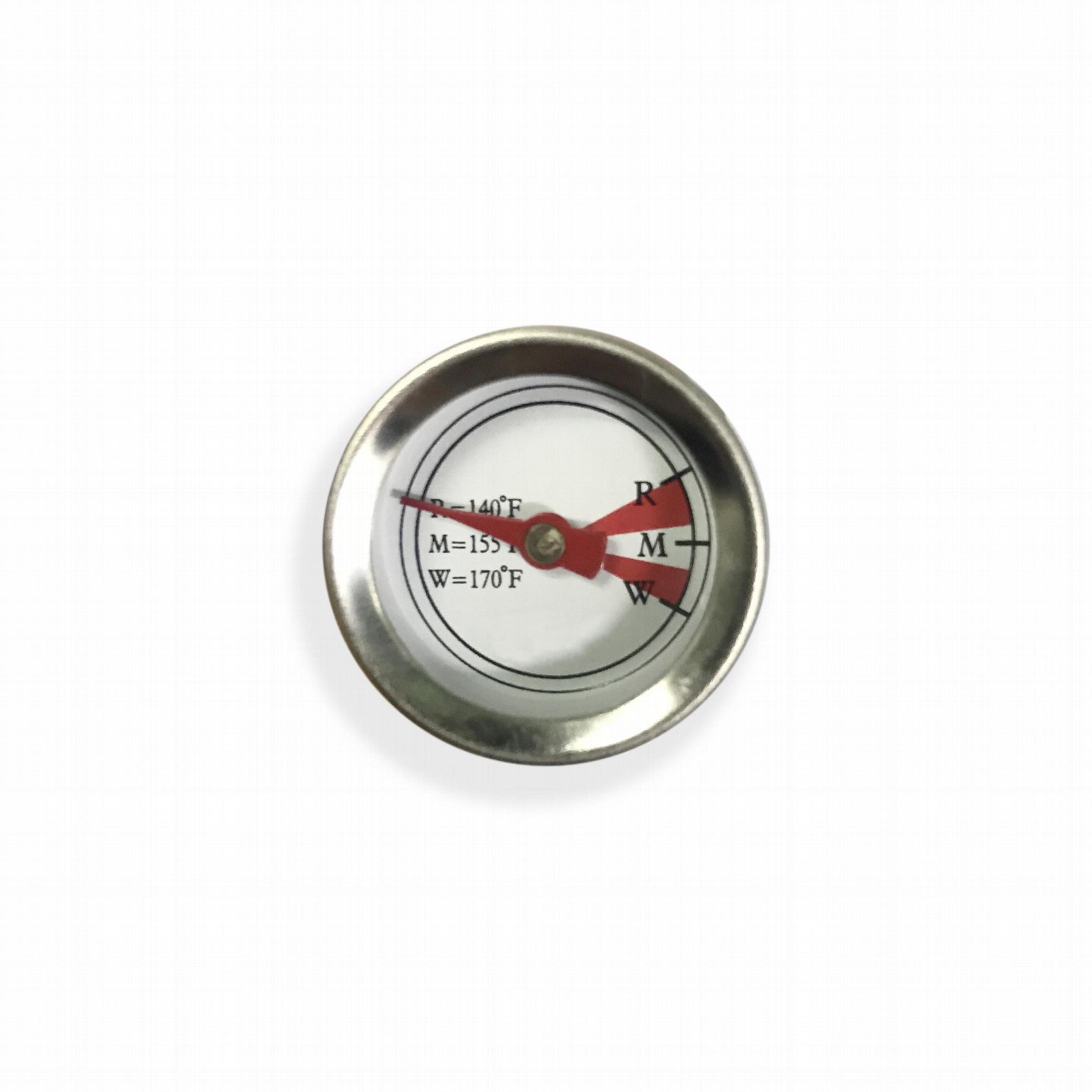 吉利 食品温度计探针烤肉温度计插入式食品温度计不锈钢材质 2