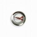 吉利 食品溫度計探針烤肉溫度計插入式食品溫度計不鏽鋼材質 2