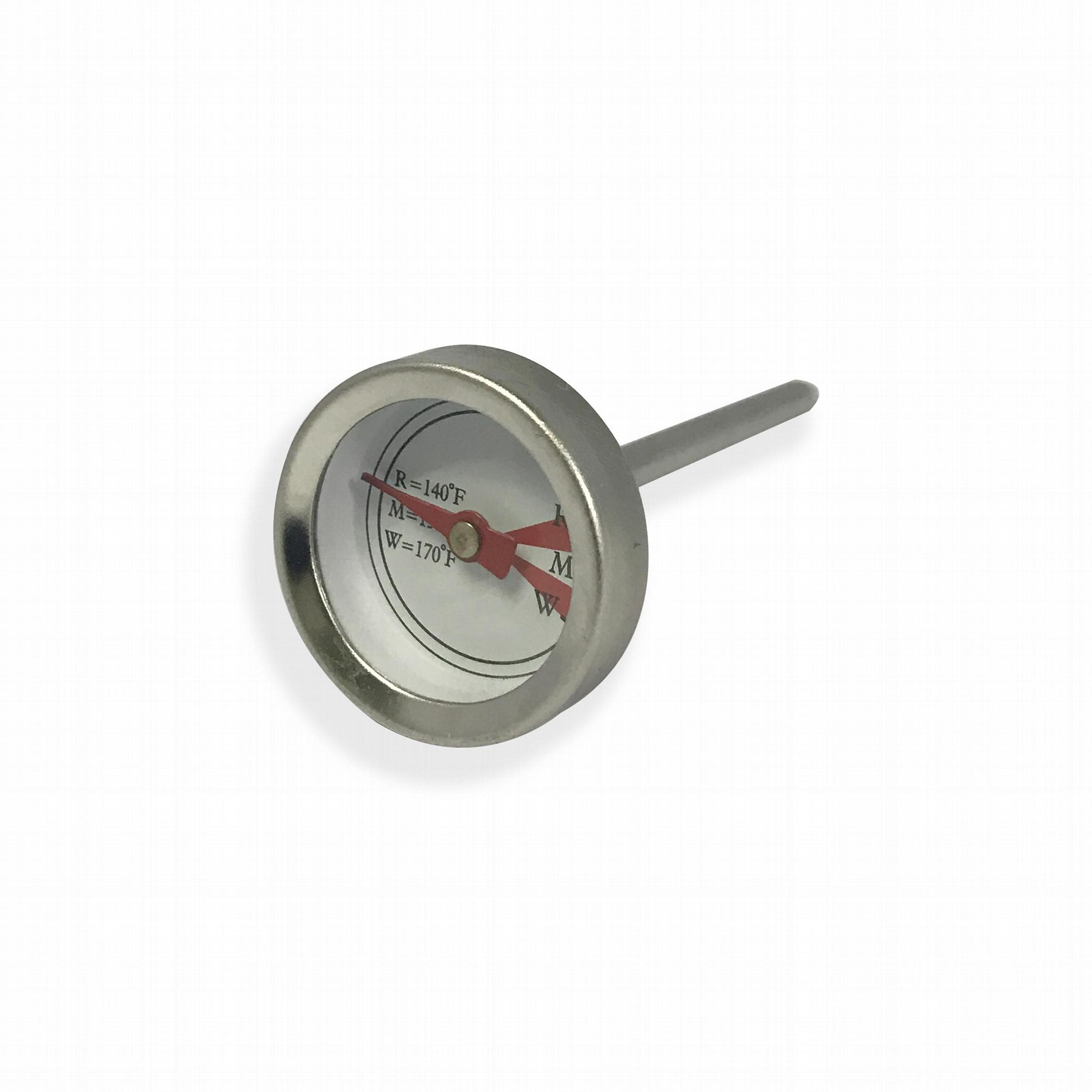 吉利 食品温度计探针烤肉温度计插入式食品温度计不锈钢材质 3