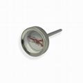 吉利 食品溫度計探針烤肉溫度計插入式食品溫度計不鏽鋼材質 3