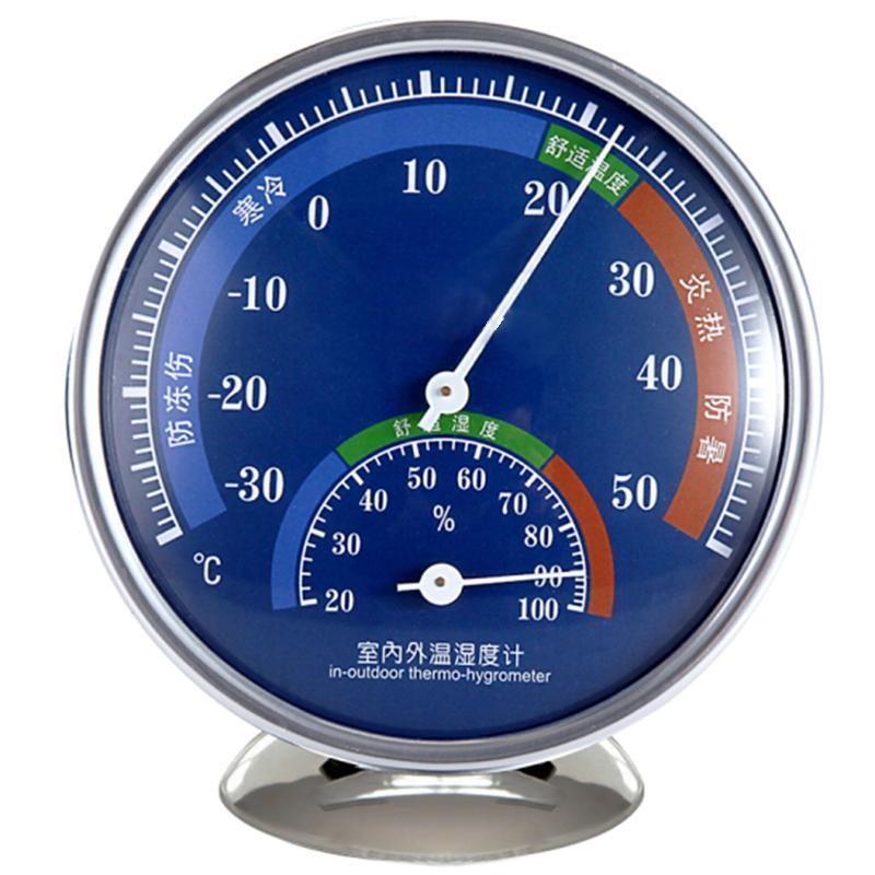 指針式溫濕度計家用溫度計工廠倉庫禮品溫度計 1