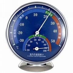指針式溫濕度計家用溫度計工廠倉庫禮品溫度計