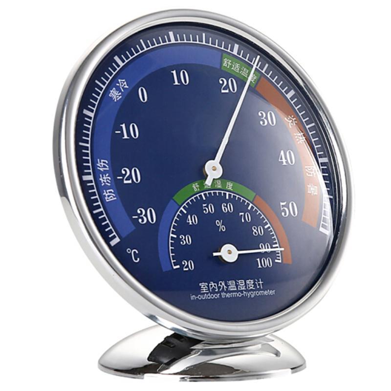 指針式溫濕度計家用溫度計工廠倉庫禮品溫度計 2