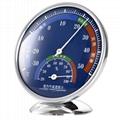 指針式溫濕度計家用溫度計工廠倉庫禮品溫度計 3