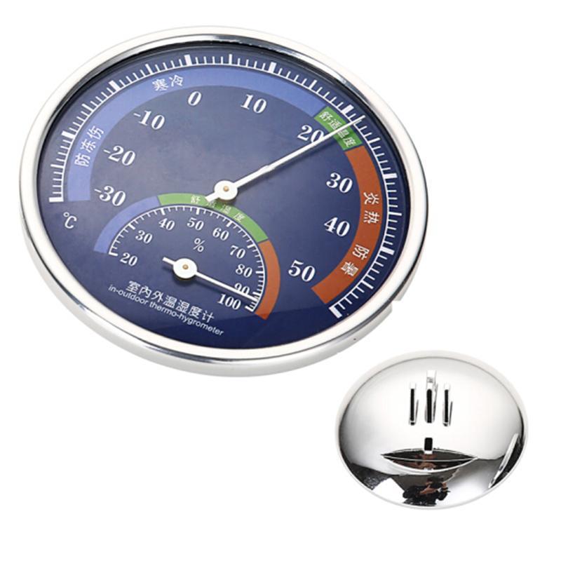 指針式溫濕度計家用溫度計工廠倉庫禮品溫度計 4