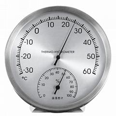 吉利 高精度溫度計家用室內外溫度客廳計機房藥房濕度計