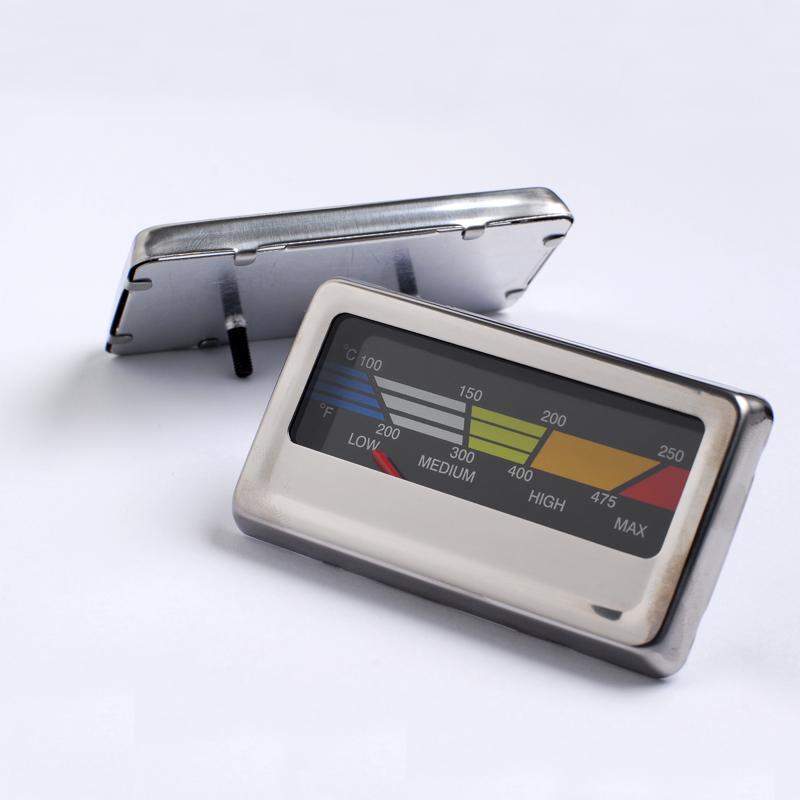 吉利 烤炉烤箱温度计食品双金属温度计不锈钢外壳材质 2
