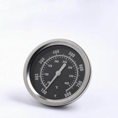 实体工厂贴牌生产烤箱烤炉温度计指针式双金属探针温度计