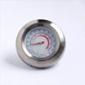 供应烧烤炉专用温度计304不锈钢材料环保安全精度高 1