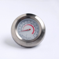 供应烧烤炉专用温度计304不锈钢材料环保安全精度高
