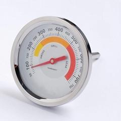 吉利工廠生產烤箱烤爐溫度計高溫計不鏽鋼外殼烤爐表貼牌代加工