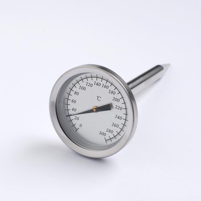 双金属探针温度计内置烤炉烤箱温度计指针式支持logo贴牌定做 1