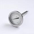 雙金屬探針溫度計內置烤爐烤箱溫