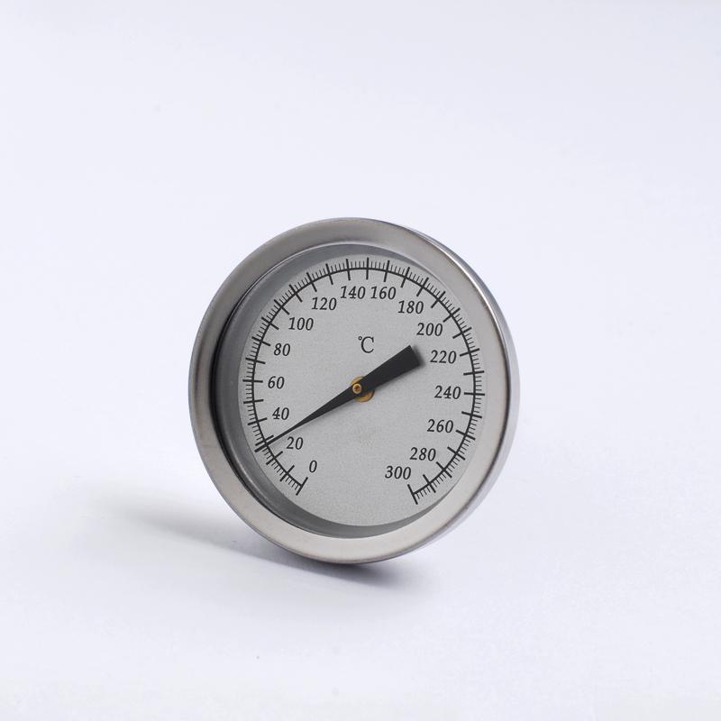 探针插入式温度计管型温度计不锈钢外壳食品烘培温度表 1