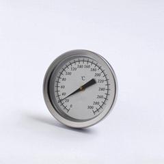 探针插入式温度计管型温度计不锈钢外壳食品烘培温度表