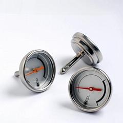 机针温度计小直径烤箱烤炉温度计双金属指针式烘培温度表