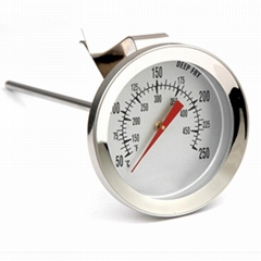 油温计油炸商用探针式烘焙温度计厨房高测量仪精度测油温器表