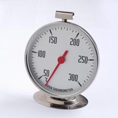 吉利 悬挂式不锈钢耐高温家用厨房温度计 烘焙工具烤炉烤箱温度计