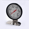 Oven Thermometer Stainless Steel Precision Thermometer Baking Tool for Cake