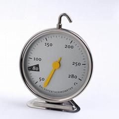 吉利 烤箱温度计高精度不锈钢温度计工厂贴牌带加工