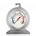 Baking thermometer Bimetal pointer Stove thermometer