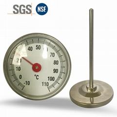 溫度計水溫計廚房食品溫度計烘焙測水溫奶溫高精度油溫溫度計探針
